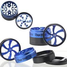 <b>Гриндер Dope Bros</b> Lighting Blue 4/63 мм | купить c доставкой!