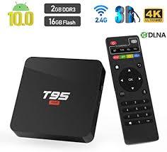 Android 10.0 TV Box, <b>T95 Super Allwinner H3</b> Quad Core: Amazon ...
