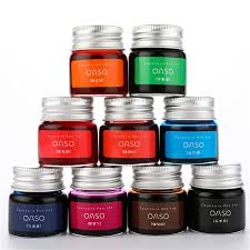 <b>1pc 20ml</b> Authentic <b>Pure colorful</b> ink without fountain pen ink pen nib ...
