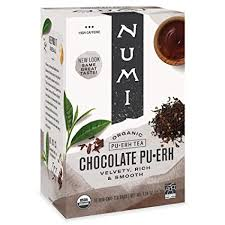Numi Organic Tea Chocolate Pu-erh, 16 Count Box of ... - Amazon.com