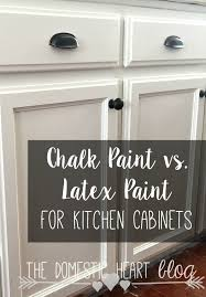 kitchen emulsion paint: the pros and cons of chalk paint and latex paint when painting kitchen cabinets very