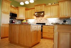 kitchen layout maple