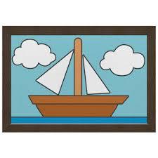 Холст 20х30 Картина кораблика из Симпсонов #549117 от ...
