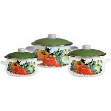 <b>Набор эмалированной посуды 3</b> предмета СтальЭмаль ...
