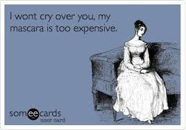 Image result for mascara crying funny