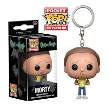 Key Chain: Rick and <b>Morty</b> - <b>Morty</b> Pocket <b>Pop</b> Vinyl (Key Chains)