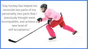 ldquo what gay hockey means to me rdquo essays published and chuck mckain
