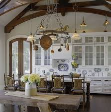 ceiling lighting french country kitchen design