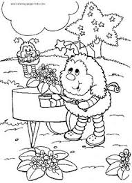 Small Picture Rainbow brite Coloring Pages Online Free coloring pages to print