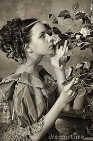 Image result for young lady historical