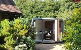 small home office in your backyard officepod freshomecom backyard home office pod