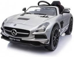 Детский <b>электромобиль Mercedes</b>-<b>Benz SLS</b> AMG Silver - SX128 ...