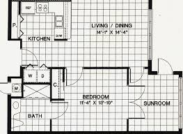 bedroom apartment plan full size