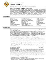 construction superintendent resume   best resume collectionconstruction superintendent job description