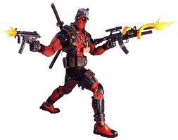 <b>Marvel</b> Classic – 1/4 Scale Action Figure – Ultimate <b>Deadpool</b> - <b>Neca</b>