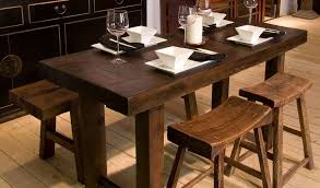 slim dining room tables wooden narrow dining tables for small spaces