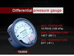 High precision Air <b>differential pressure</b> gauge vacuum Manometer ...