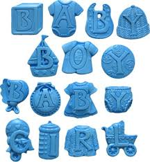 <b>Baby Letters Silicone</b> Mold