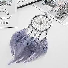 <b>Indian Style Car Handmade</b> Dream Catcher Net with Feathers ...