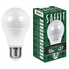 «<b>Лампочка SAFFIT A60</b> 10W 2700K 230V <b>E27</b> SBA6010 55004 ...