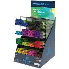 <b>Ручка капиллярная Schneider Line-Up</b> ассорти, 0,4мм, дисплей ...