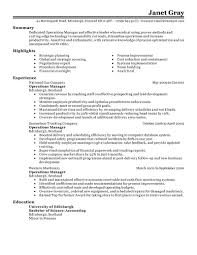 management resume examples management sample resumes livecareer operations manager resume example