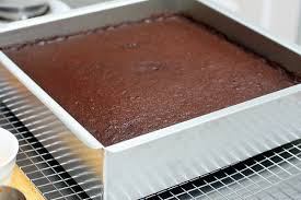 Image result for picture of chocolate cake 8 x 8 pan