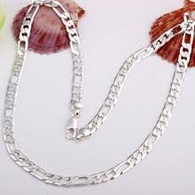 Buy 925 figaro <b>necklace</b> and get free shipping on AliExpress.com