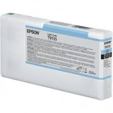 <b>Epson T9135 Light</b> Cyan Inkt Cartridge - Epson Image Processing ...