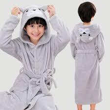 New Arrival 2018 <b>Winter Children Bath</b> Robe Cartoon Flannel ...