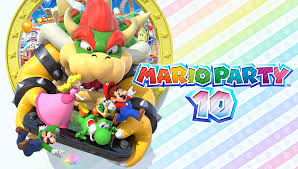 Image result for mario party 10 logo