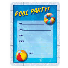 printable pool party invitations com wonderful blank pool party invitations about luxurious article