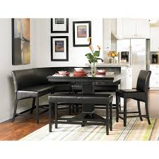 black counter dining set