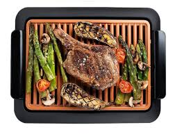 Gotham Steel <b>Smokeless Electric Grill</b> with Non-Stick Surface ...