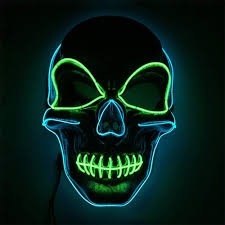 Voneta <b>Halloween</b> LED Light Up Mask Specially Designed for ...