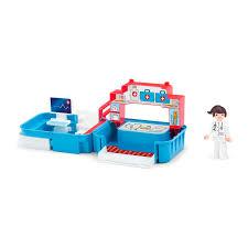 <b>Игровой набор EFKO</b> больница с фигуркой медсестрой в ...