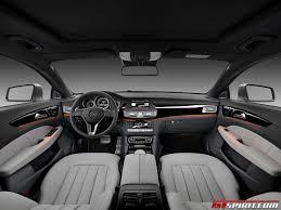 New CLS interior