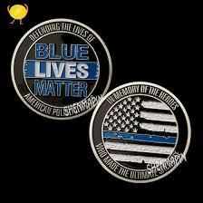 Shop New <b>custom</b> hero commemorate medal <b>coins silver plated</b> US ...