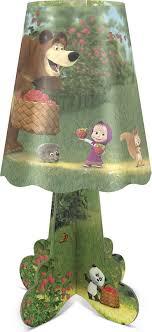 <b>Ночник настольный ФОТОН</b>, Маша и Медведь DNM-05, цвет ...