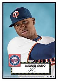 Image result for miguel sano card