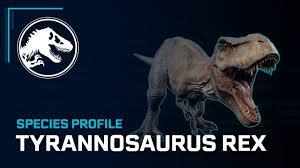Species Profile - <b>Tyrannosaurus Rex</b> - YouTube