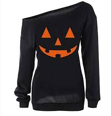 GSVIBK <b>Womens Halloween</b> Shirt Pumpkin Sweatshirt <b>Halloween</b> ...