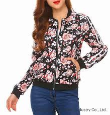 China Fashion <b>Flower Print</b> Long Sleeve Outcoat <b>Hoodie Women</b> ...