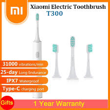 <b>Xiaomi Mijia T300 Rechargeable</b> Sonic Electric Toothbrush USB ...