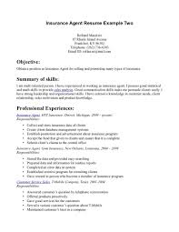insurance agent resume sample resume writing example insurance agent resume sample life insurance agent resume sample agent resumes job wining insurance agent resume