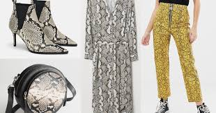 The 2019 <b>Snakeskin</b> Trend Will Definitely Slither Into Your Closet ...