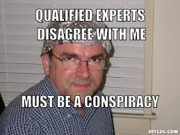 Paranoid Conspiracy Theorist Meme Generator - DIY LOL via Relatably.com