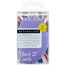<b>Tangle Teezer Thick</b> & Curly Detangling Hairbrush Lilac Fondant ...