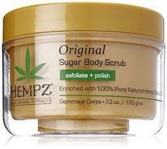 <b>Hempz Original Herbal Sugar</b> Body Scrub, 7.3 Fluid Ounce | Herbal ...