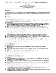 Buyer Mechanical Purchasing Resume Samples